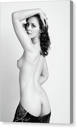 Fine Art Pin-up Canvas Print by Harry Spitz