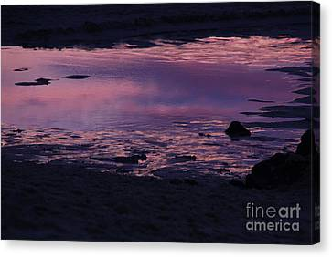 Fine Art - Water Sunset Canvas Print
