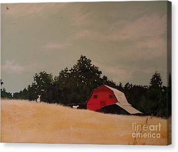 Fine August Day Canvas Print by Carla Dabney