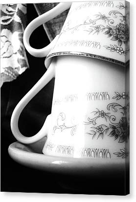 Fine China Canvas Print
