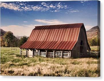 Fine Old Barn Canvas Print