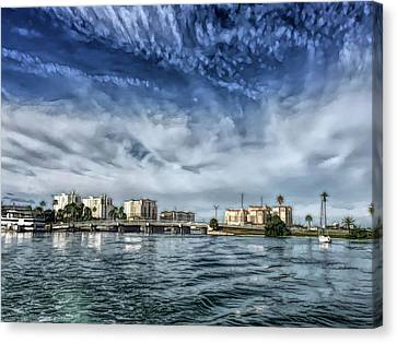 Fine Wine Cafe Clearwater Florida Canvas Print