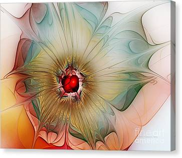 Finely Spruced Flower Canvas Print