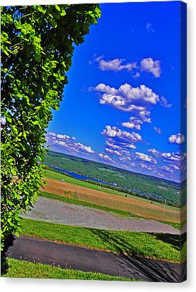 Finger Lakes Country Canvas Print
