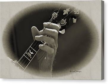 Finger Pickin' Good 1 Canvas Print by Kae Cheatham