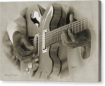 Finger Pickin' Good 2 Canvas Print by Kae Cheatham