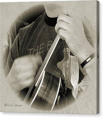 Finger Pickin' Good 4 Canvas Print by Kae Cheatham