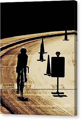 Finish Strong Canvas Print by Matt Krieger