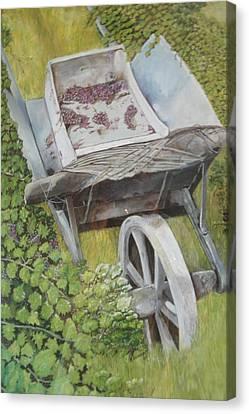 Finished Harvest Canvas Print