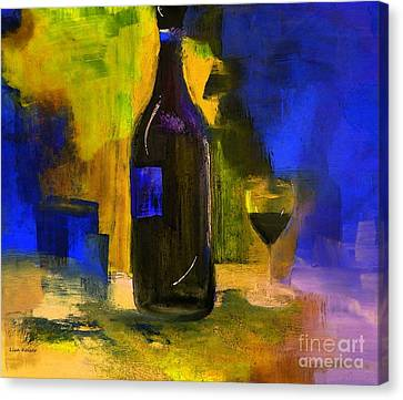 One Last Glass Before Bed Canvas Print by Lisa Kaiser