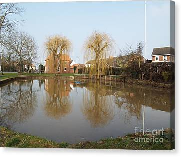 Finningley Pond Canvas Print