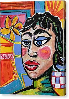 Fiona - Vivid Vixen 6 Canvas Print