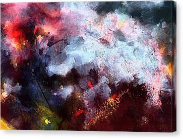 Fire And Ice Canvas Print by Art Dreams