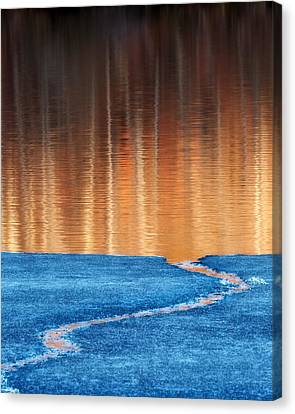 Fire And Ice Canvas Print by Bill Wakeley