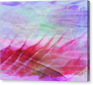 Fire And Ice Canvas Print by Judi Bagwell