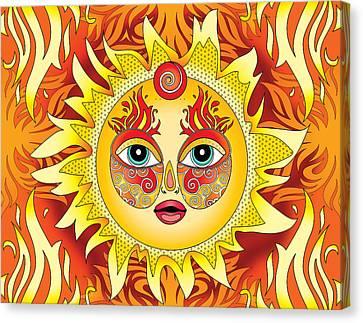 Fire Element Canvas Print