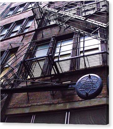 Fire Escape I Canvas Print