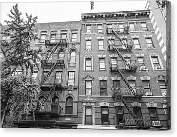 Nyc Fire Escapes Canvas Print - Fire Escape Nyc by John McGraw