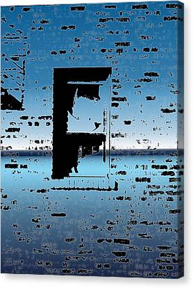 Fire Escape Canvas Print - Fire Escape Window by Tim Allen