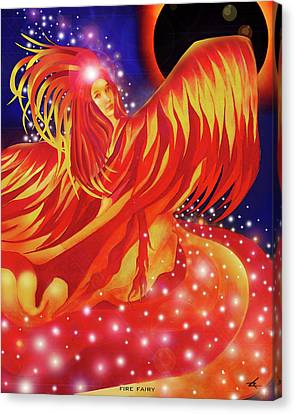 Fire Fairy Canvas Print