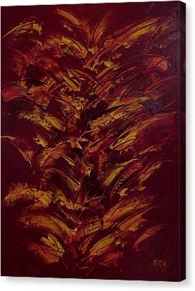 Fire Flowers Canvas Print by Bo Klinge