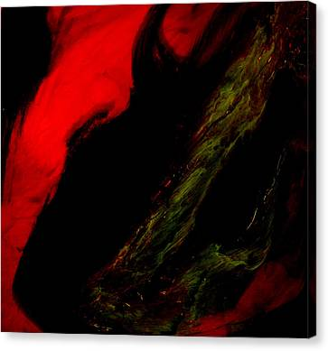 Combustion Canvas Print - Fire I by Summer Morgan