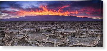 Panamint Valley Canvas Print - Fire In The Desert by Andrew Soundarajan