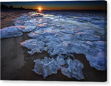 Fire Island Winter Canvas Print by Rick Berk