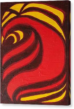 Fire Canvas Print by Joseph Bradley