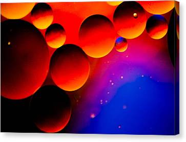 Fire Moons Canvas Print by Bruce Pritchett