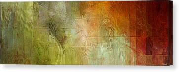 Fire On The Mountain - Abstract Art Canvas Print