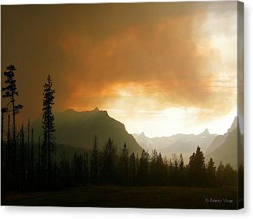 Fire Over St Mary Canvas Print