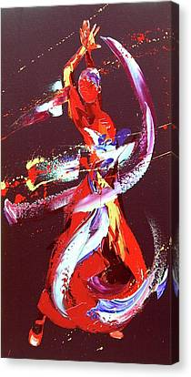 Fire Canvas Print by Penny Warden