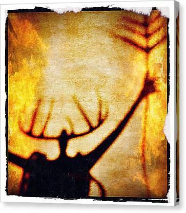 Fire Shaman Canvas Print by Paul Cutright