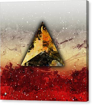 Platonic Canvas Print - Fire by Stevyn Llewellyn