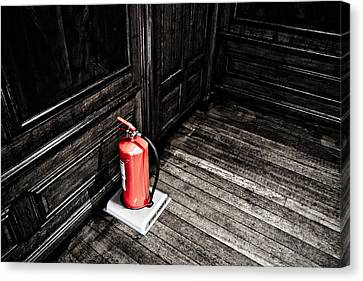 Fire Stop Canvas Print by Joseph Westrupp