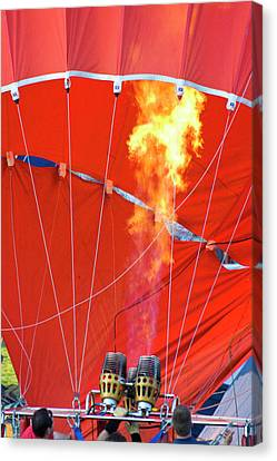 Fire Up Canvas Print by Brian Roscorla