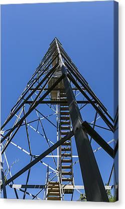Fire Watch Tower Elba 1 Canvas Print
