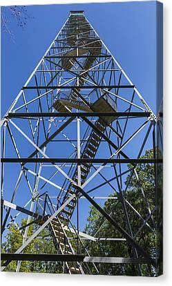 Fire Watch Tower Elba 2 Canvas Print