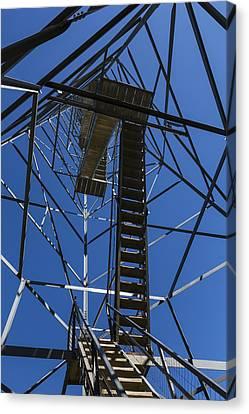Fire Watch Tower Elba 3 Canvas Print