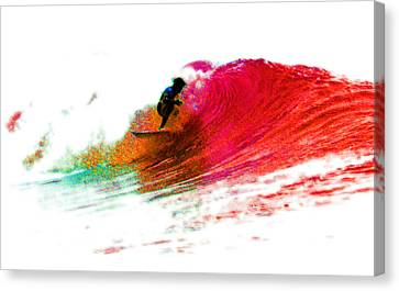 Fire Water Canvas Print by David Coyle