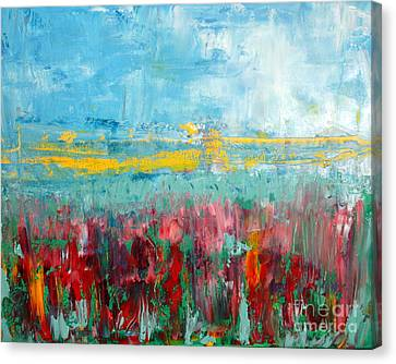 Fire Weed Canvas Print