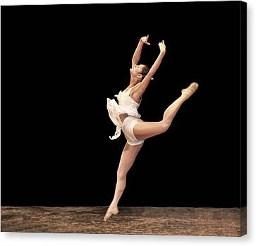 Firebird Ballet Position Canvas Print