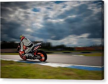 Fireblade Canvas Print by Ari Salmela