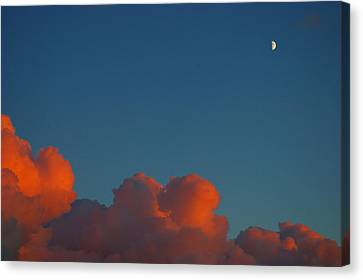 Fireclouds 2 Canvas Print