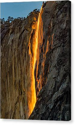 Firefall Canvas Print by Bill Gallagher