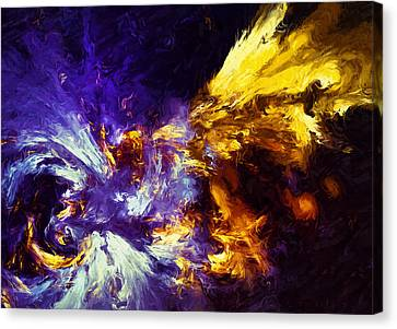 Firefly Abstract Canvas Print