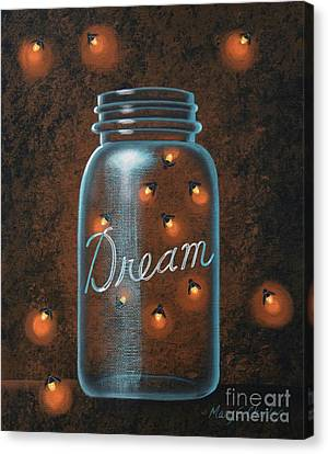 Firefly Dream Canvas Print
