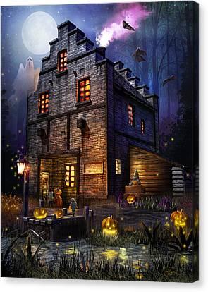 Firefly Inn Halloween Edition Canvas Print