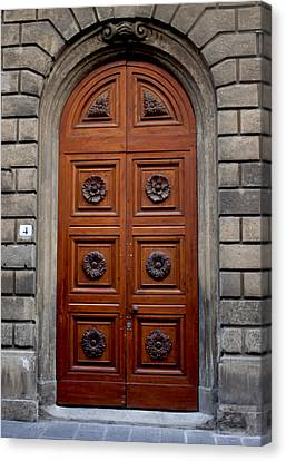 Firenze Door Canvas Print by Ivete Basso Photography